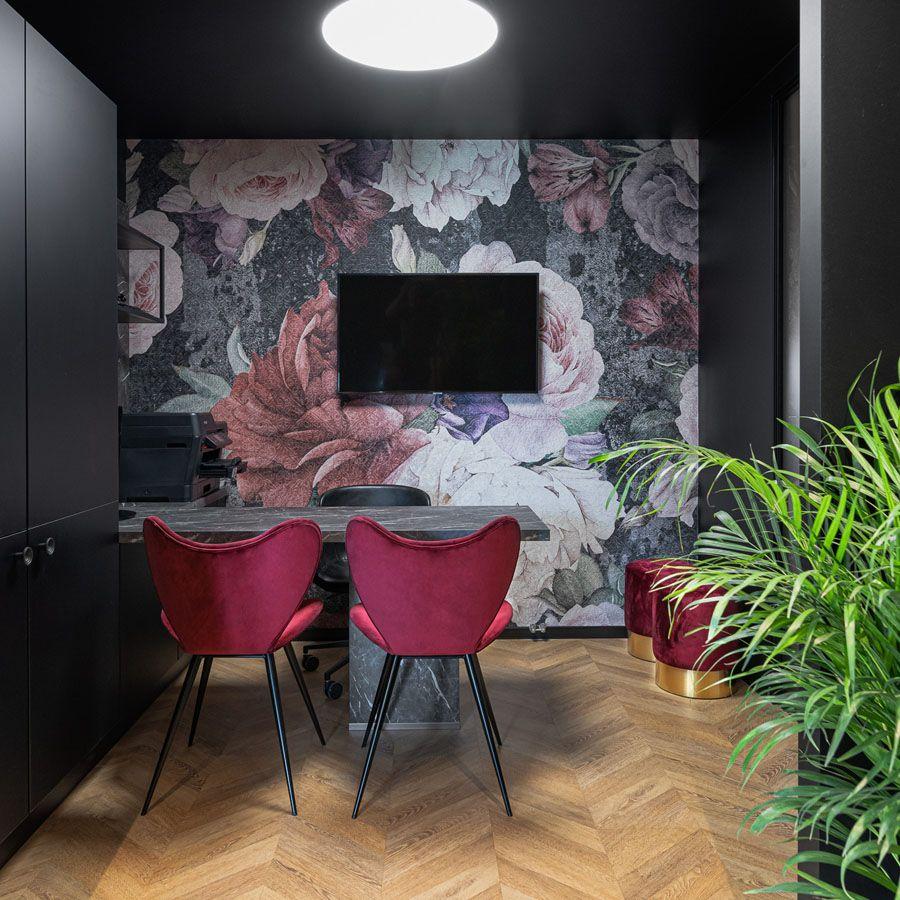 Projektowanie wnętrz – showroom Wilanów